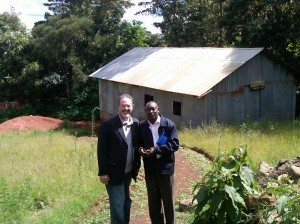 Pastor Anthony New building
