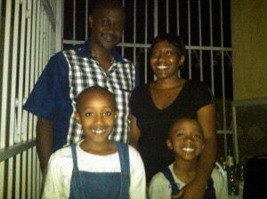 Pastor Enock and Family